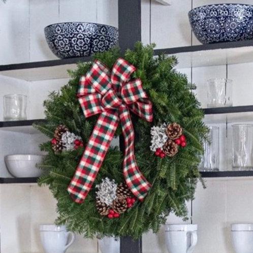 Cozy Christmas Wreath
