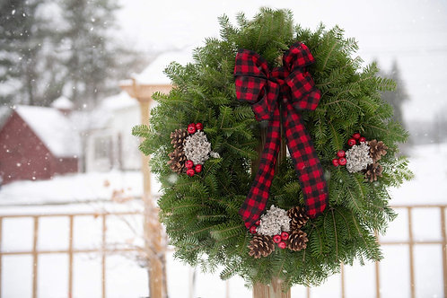 Maine Lumberjack Wreath (Pick-up only)
