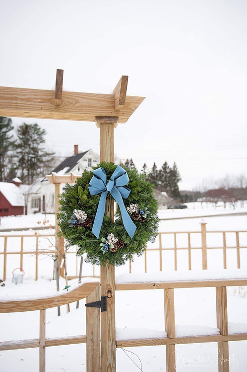 Maine Blueberry Wreath (Pick-up only)