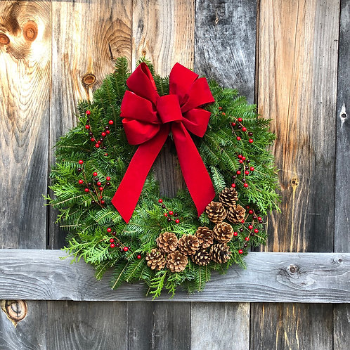 The Winterberry Wreath