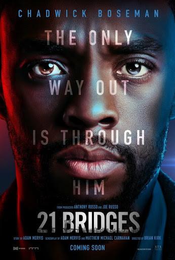 21 Bridges (2019) WEB-DL 720p Full English Movie Download
