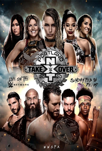 WWE NXT TakeOver Portland (2020) WEBRip 720p Full Show Download