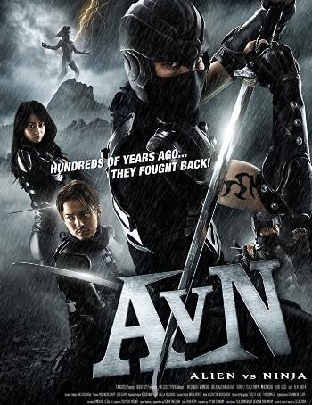 Alien vs Ninja (2010) HDrip 720p Dual Audio In [Hindi English]