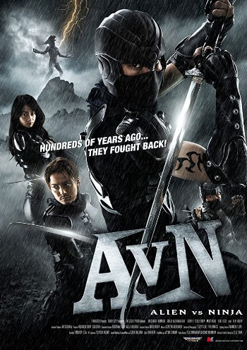 Alien vs Ninja (2010) HDrip 720p Dual Audio In [Hindi English]