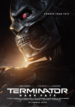 Terminator Dark Fate (2019) HDTS 720p Full English Movie Download