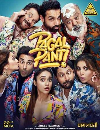 Pagalpanti (2019) WEB-DL 720p Full Hindi Movie Download