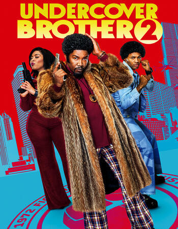Undercover Brother 2 (2019) WEB-DL 720p Full English Movie Download