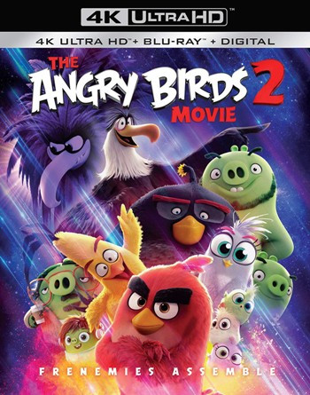 The Angry Birds Movie 2 (2019) BrRip 1080p Dual Audio In [Hindi English]