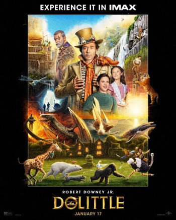 Dolittle (2020) BluRay 720p Full English Movie Download