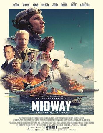 Midway (2019) HDrip 720p Full English Movie Download