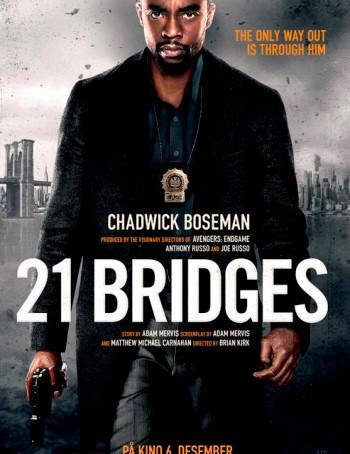 21 Bridges (2019) HDcam 720p Full English Movie Download
