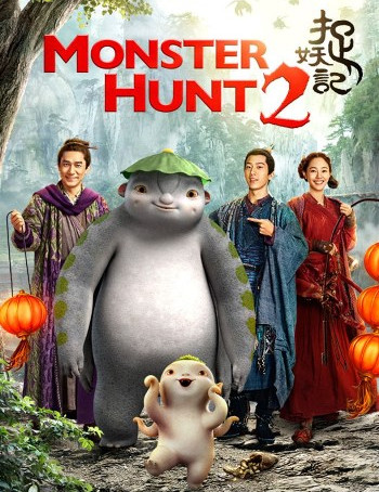 Monster Hunt 2 (2018) BluRay 720p Dual Audio ORG In [Hindi English]