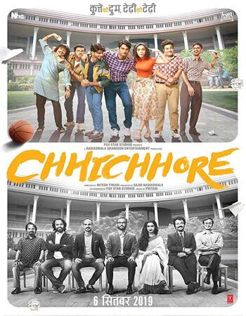 Chhichhore (2019) WEB-DL 1080p Full Hindi Movie Download
