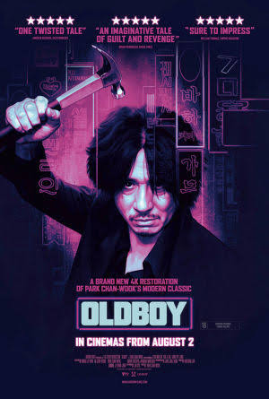 Oldboy (2003) BluRay 720p Dual Audio ORG In [Hindi Korean]