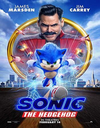 Sonic the Hedgehog (2020) HDrip 720p Full English Movie Download