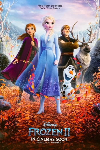 Frozen 2 (2019) HDcam 720p Dual Audio In [Hindi English]