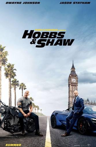 Fast & Furious: Hobbs & Shaw 2019 BluRay 720p Dual Audio In [Hindi English]