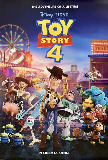Toy Story 4 (2019) BrRip 720p Dual Audio In [Hindi English]