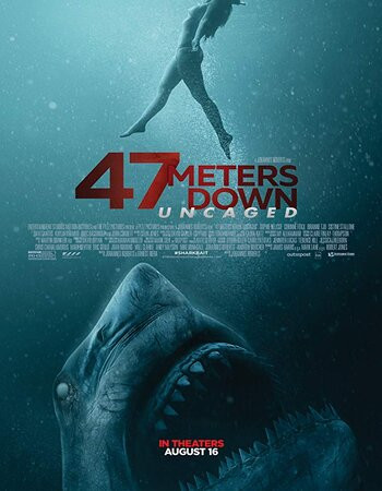 47 Meters Down Uncaged (2019) WEB-DL 720p HC Full English Movie Download