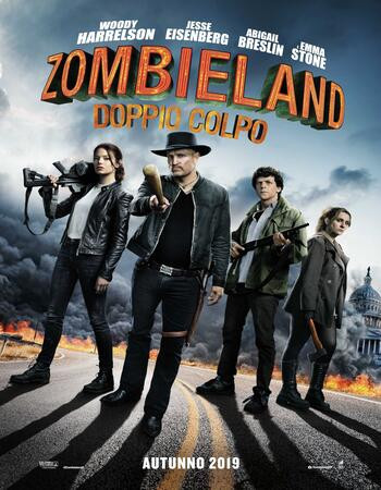 Zombieland Double Tap (2019) HDrip 720p Full English Movie Download