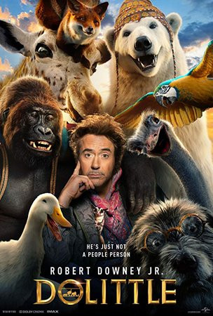 Dolittle (2020) WEB-DL 720p Full English Movie Download