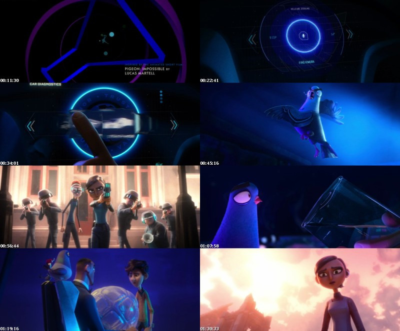 Spies In Disguise (2019) WEB-DL 720p Dual Audio In [Hindi English]