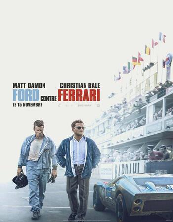 Ford v Ferrari (2019) DVDScr 720p Full English Movie Download