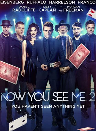 Now You See Me 2 2016 BrRip 720p Dual Audio In [Hindi English]
