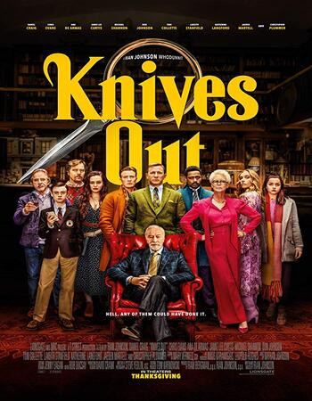 Knives Out (2019) HDcam 720p Full English Movie Download