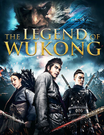 Wu Kong (2017) BrRip 720p Dual Audio In [Hindi Chinese]