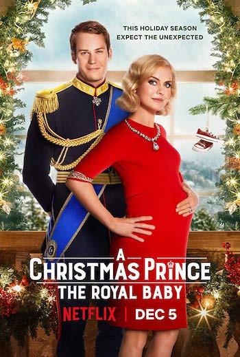 A Christmas Prince The Royal Baby (2019) WEB-DL 720p Dual Audio In [Hindi Engish]