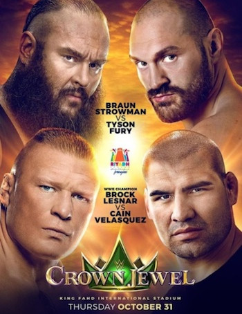 WWE Crown Jewel (2019) PPV WEBRip 720p Full Show Download