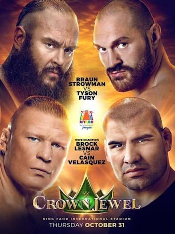 WWE Crown Jewel (2019) PPV WEBRip 720p Full Show Download