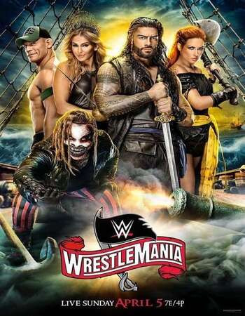 WWE WrestleMania 36 (2020) PPV WEBRip 720p Full Show Download