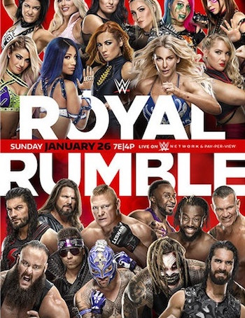 WWE Royal Rumble (2020) PPV WEBRip 720p Full Show Download