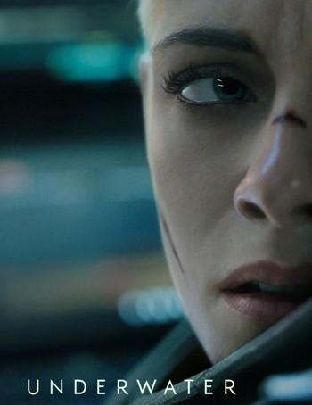 Underwater (2020) HDrip 720p Full English Movie Download