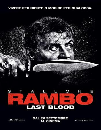 Rambo Last Blood (2019) HDrip 720p Dual Audio In [Hindi English]