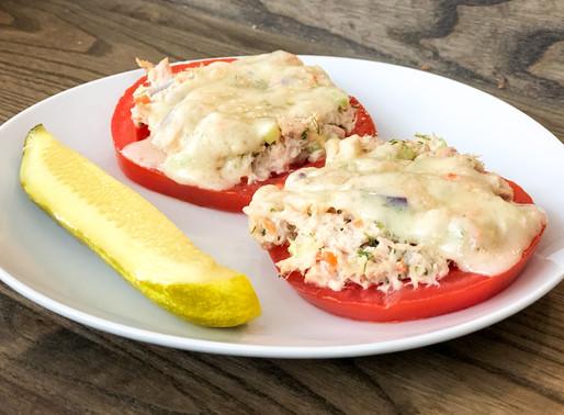 Tomato Tuna Salad Melts