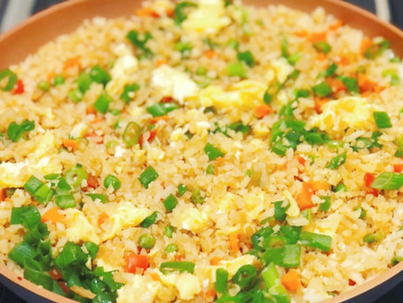 Cauliflower and Vegetable Fried Rice