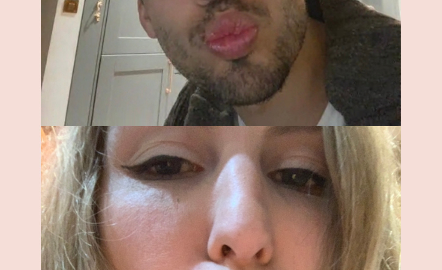 Portraits in Various Resolutions - Virtual Kisses