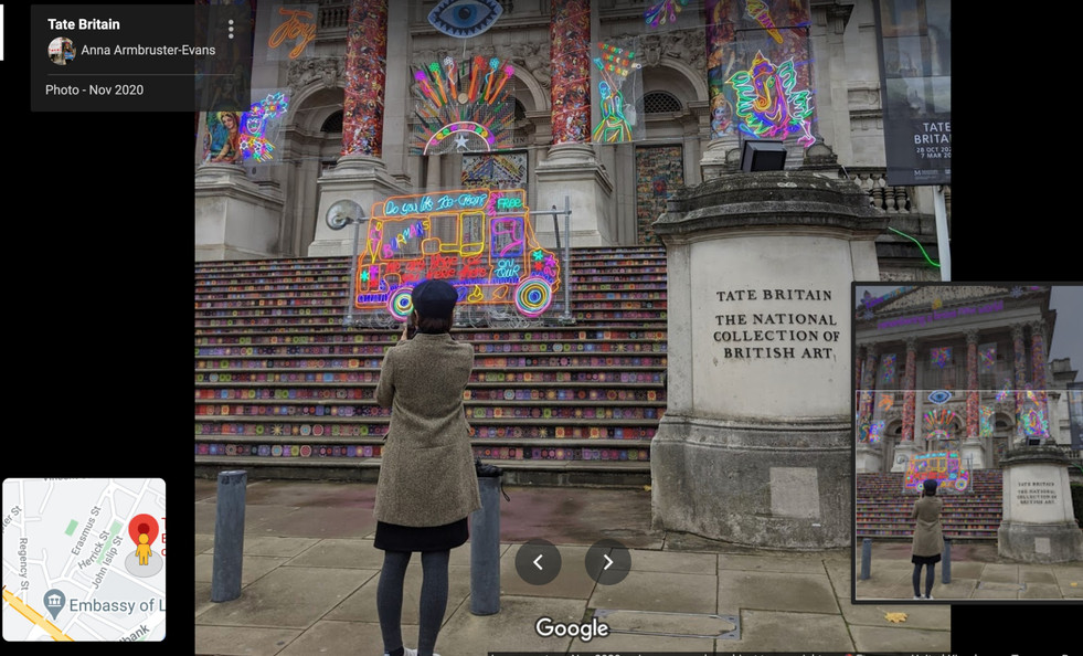 The Tate Britain - November 2020
