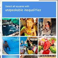 #iamnotarobot - Unspeakable Inequalities