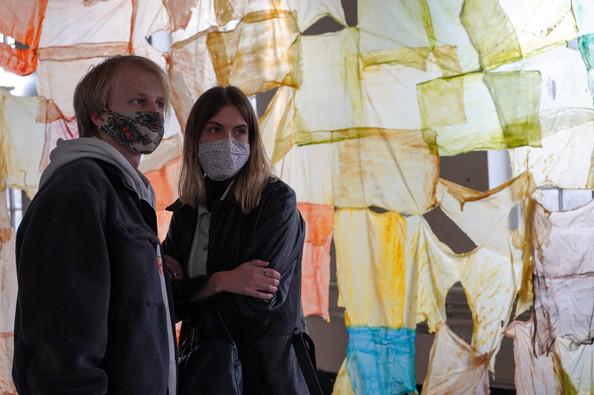 Liz Elton's work at Little Voices, part of Kensington + Chelsea Art Week 2020