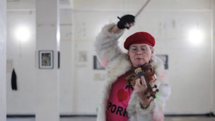 Sarah Jane Baker plays the violin at Little Voices