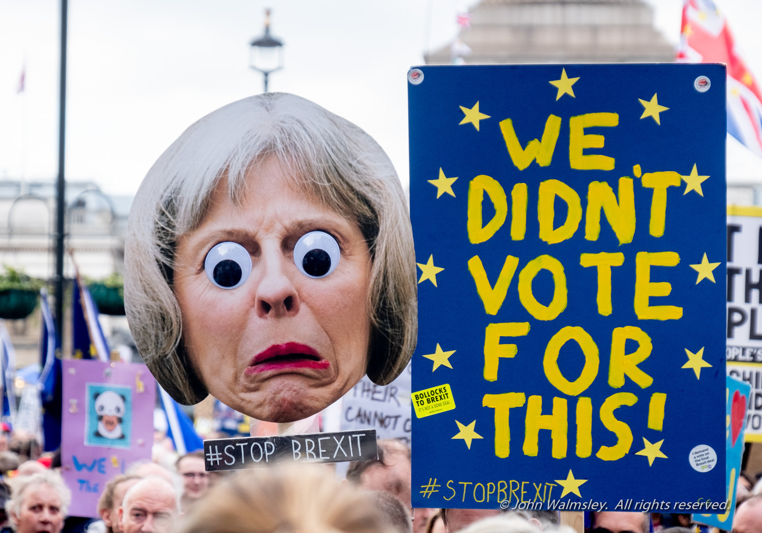 #124540  Caricature of Theresa May, Anti-