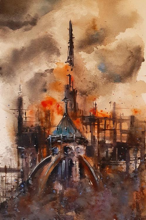 Notre-Dame de Paris by Daniel Zlota