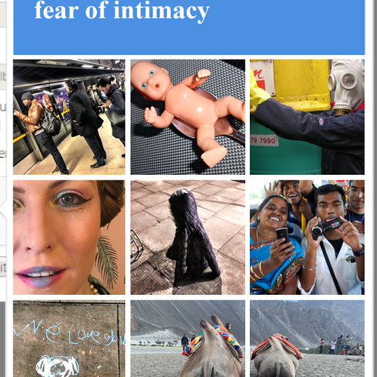#iamnotarobot - Fear of Intimacy