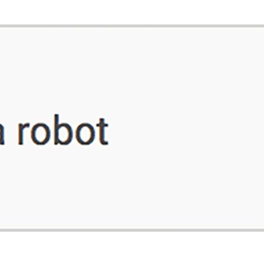 #iamnotarobot - Captcha