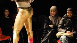 #061293  Student Fashion Show by John Walmsley