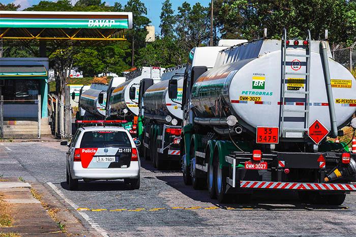 Caminhão Petrobras